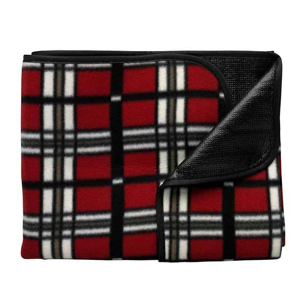 Fleece Blankets In A Pouch