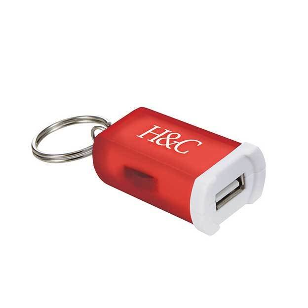 Mini Car Charger Keychains