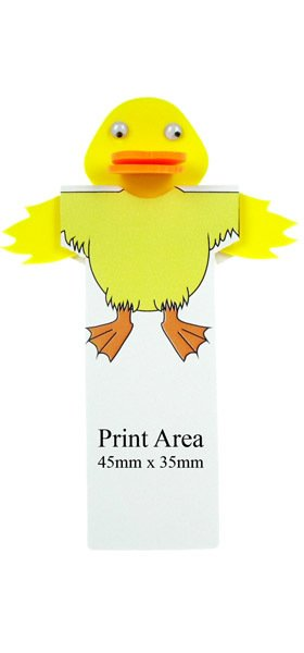 Printed Duck Bookmarks