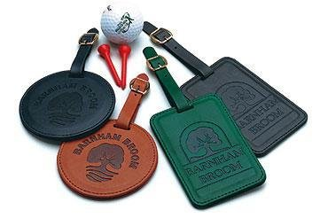 Leatherette Bag Tags