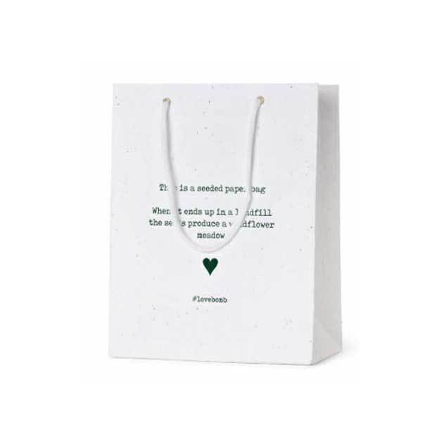 Seed Paper Carrier Bags