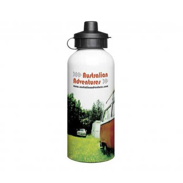 Aluminium 600ml White Drink Bottles
