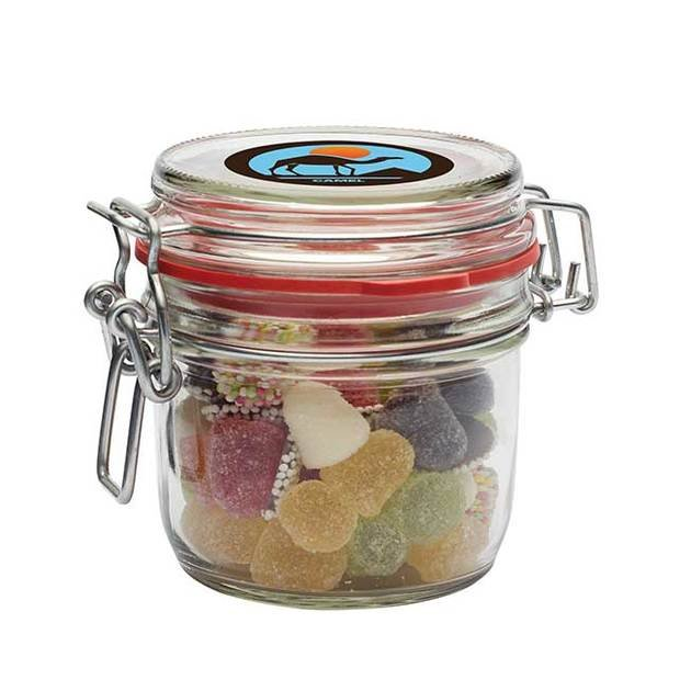 125ml Glass Jars with Base Category Sweets