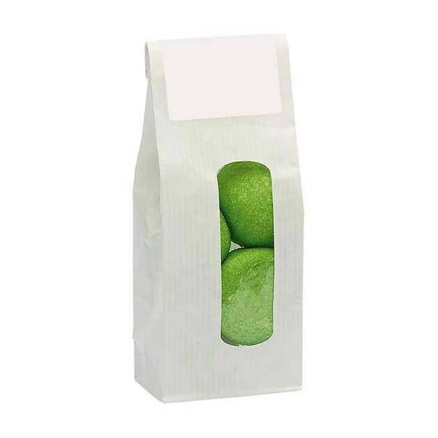 Base Category Sweet Kraft Bags With A Window