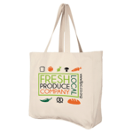 Mix N Match- Deluxe Natural Cotton Shoppers