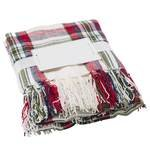 8186 polyester-blankets-red
