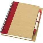 Priestly recycled notebook with pen