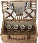 Willow Picnic Baskets For 4 People