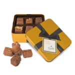 Gold Square Chocolate Tins- Small