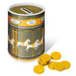 Carousel Tins- Chocolate Coins