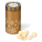 Snack Tube - White Chocolate Malt Balls