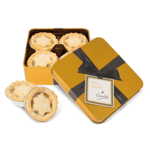 Gold Square Mince Pie Tins- Small