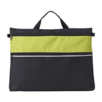 Polyester Document Bags With A Zipped Front Pocket