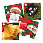 Square Christmas Gift Tags
