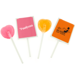 Lollipops in Paper Envelopes
