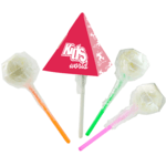 Lollipops in Triangle Boxes