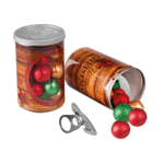 Christmas Pull-Up Ring Container