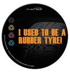 Tyre Brite-Mat Round Mousemats