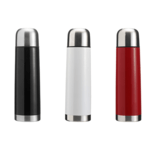 500ml Vacuum Flasks With A Coloured Body