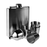 Hip Flasks Sets With 6 Pieces