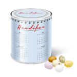 Calendar Tins - Speckled Chocolate Eggs