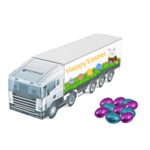 Large Easter Trucks- Foil Wrapped Chocolate Eggs