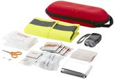 First Aid Kit 47-Piece with Safety Vests