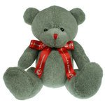 25cm Red Nose Bow Bears