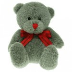 15cm Red Nose Bow Bears