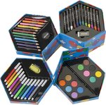 Art Sets With 56-Pieces
