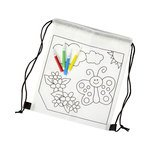 Backpacks With Drawing Panel