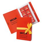 Belgian Chocolates Card Book