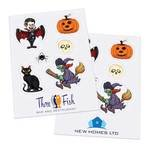 Halloween Sticker Sheets