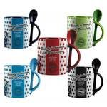 Duraglaze 11oz Soup & Spoon Two Tone PhotoMugs