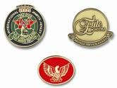 Die Struck Badges