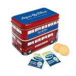 Tea and Biscuits Bus Tins
