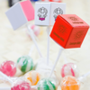 Ball Lollipops in Square Boxes